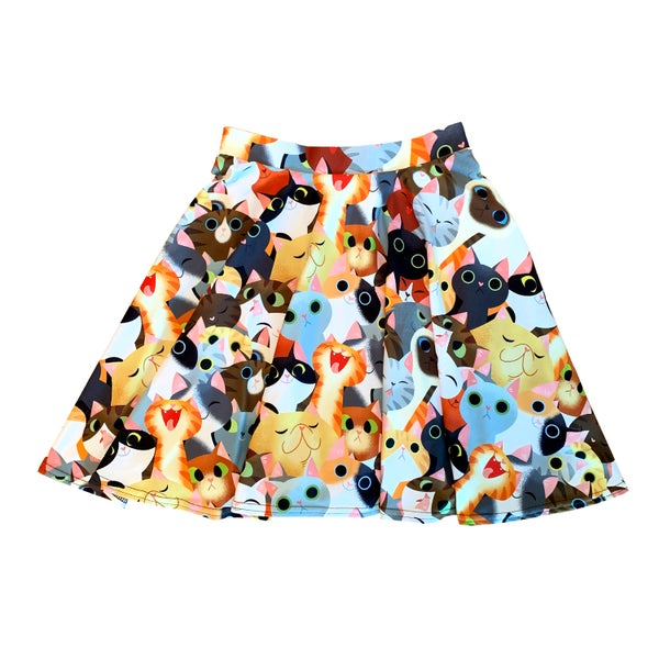 Image of Cat Crowd Skirt
