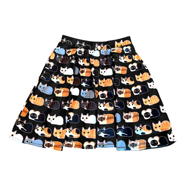 Image of Cat Loaves Skirt