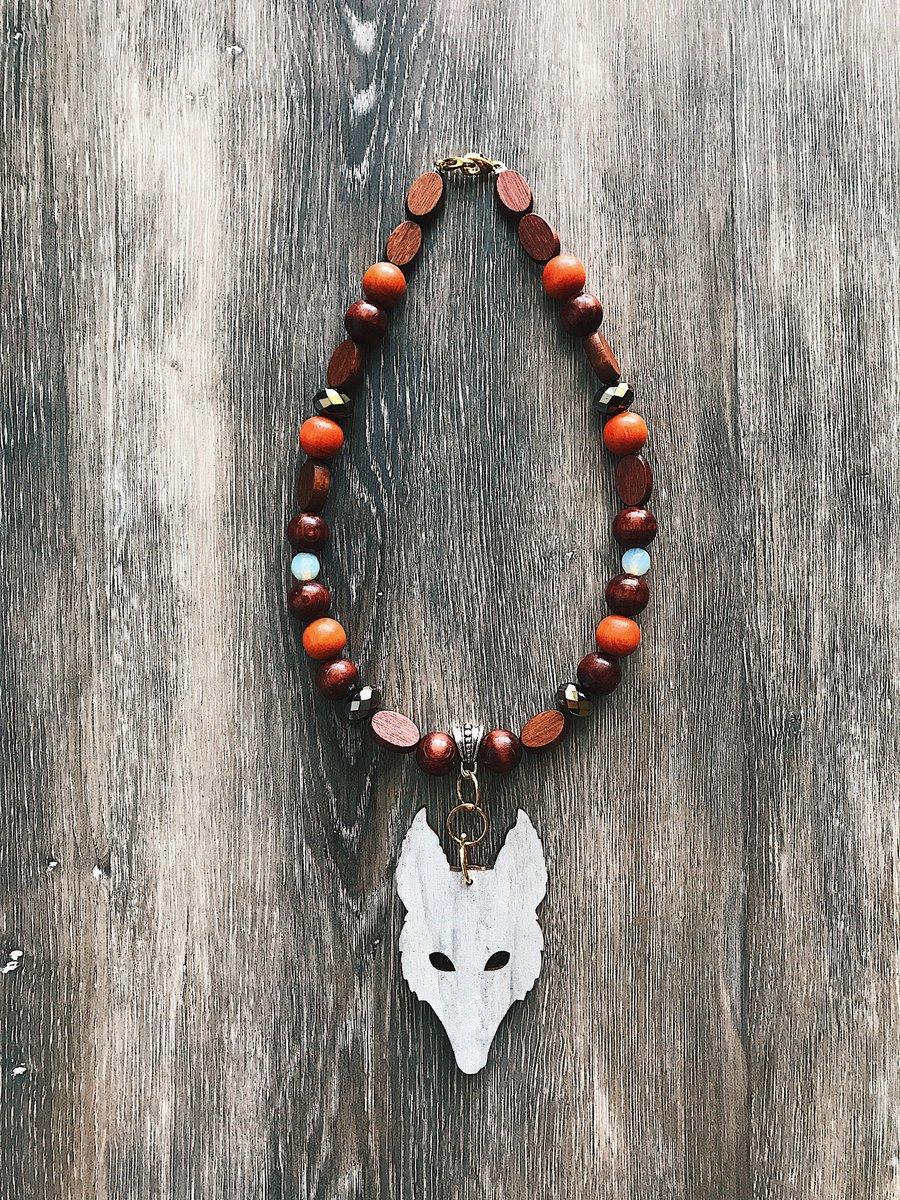 Image of Wolf Eye Amulet - Ethiopian Wolf