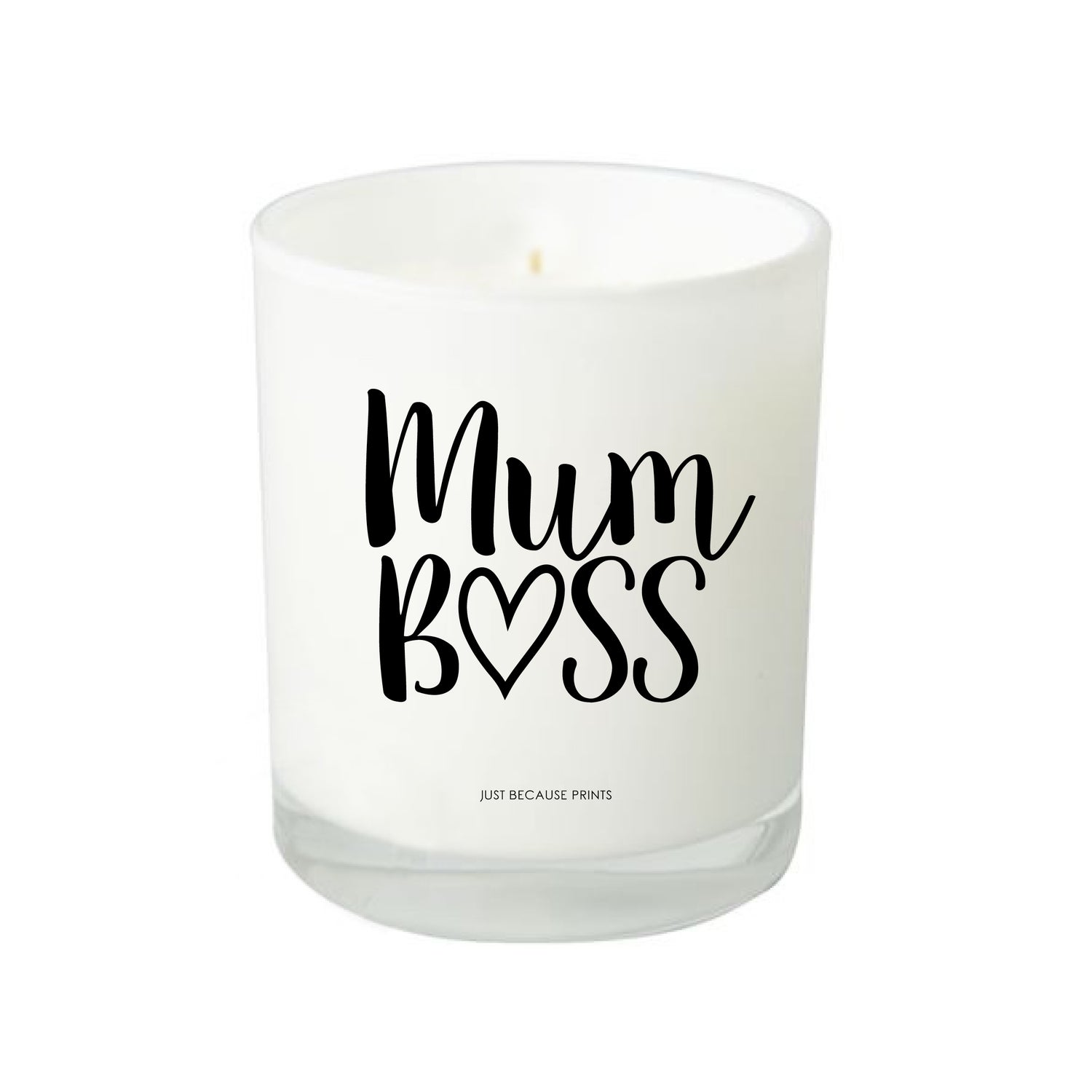 Image of Quote Candle - Mum Boss