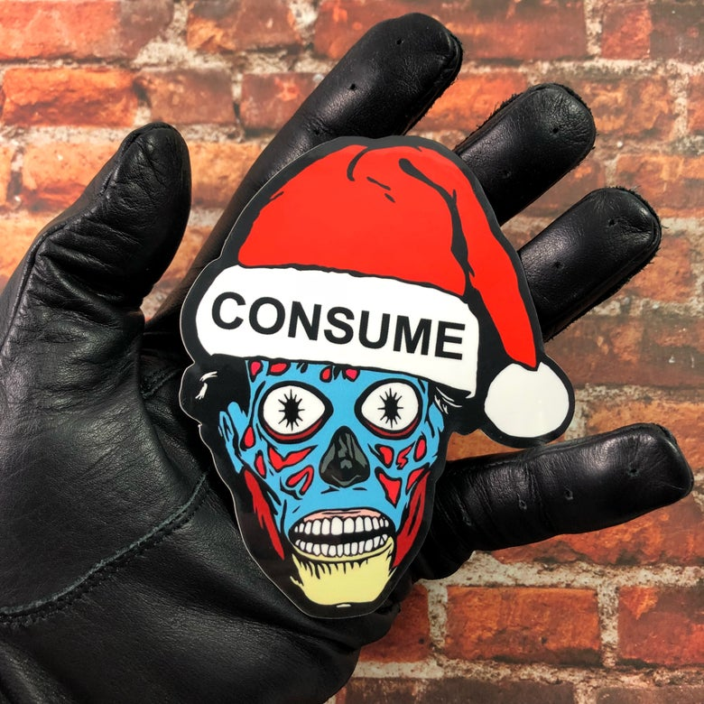 Image of Holiday Consumer (Decal)