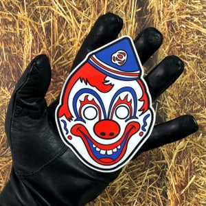 Image of Clown Mask (Decal)