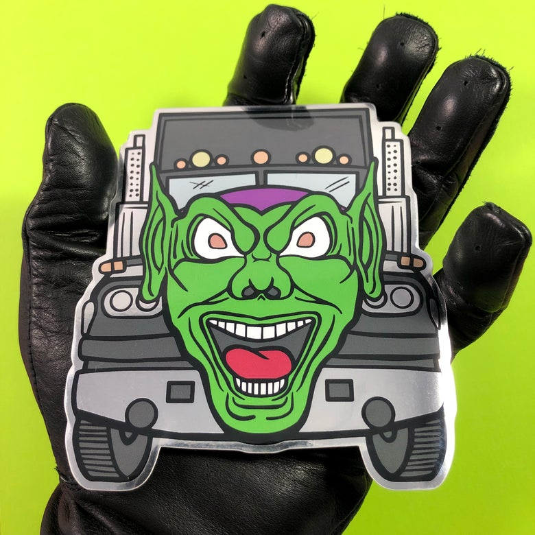 Image of Goblin Truck (Decal)