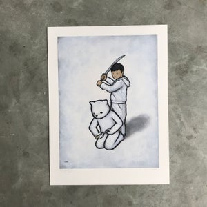 Image of SEPPUKU print by Luke Chueh