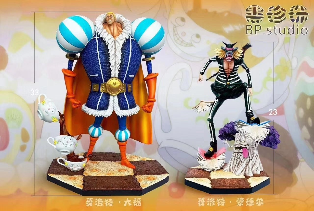 Image of [Pre-Order] One Piece Black Pearl Studio P.O.P Scale Set: Daifuku & Mont d'Or Resin Statue
