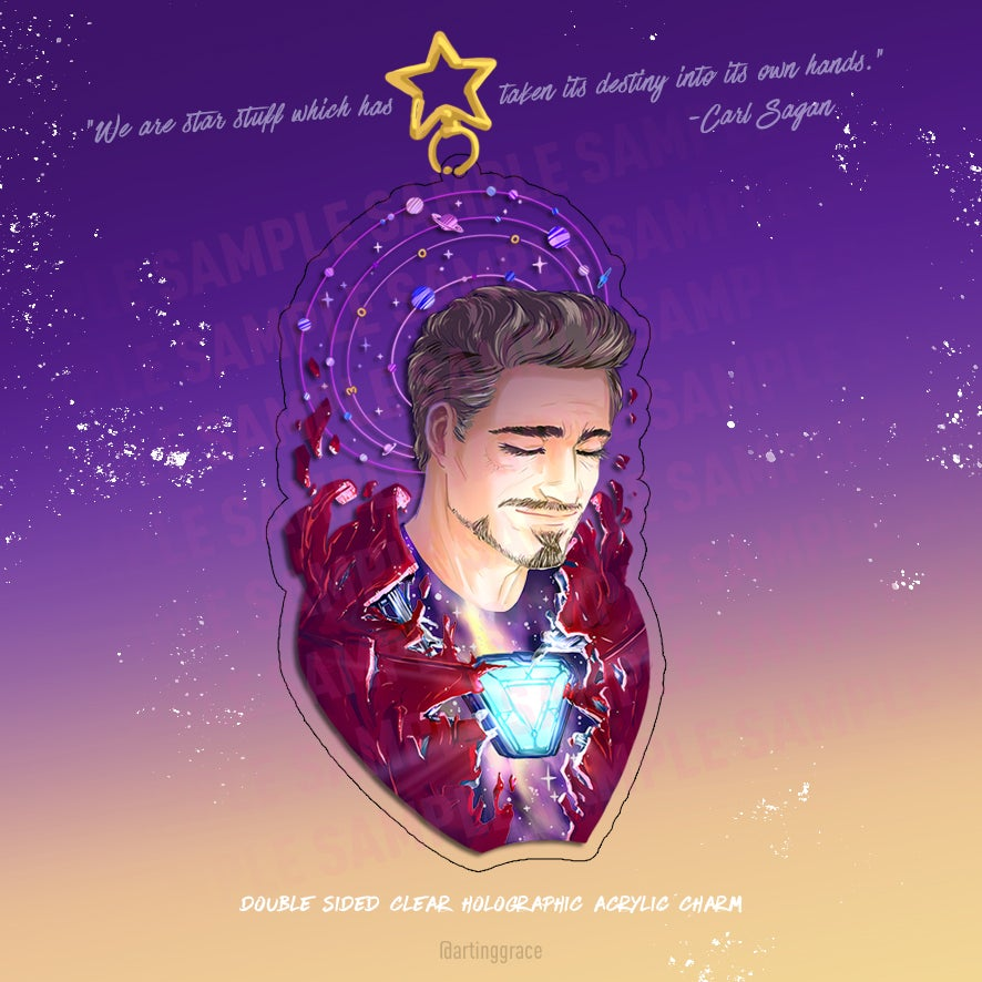 Image of [Holo Charm] Space Tony