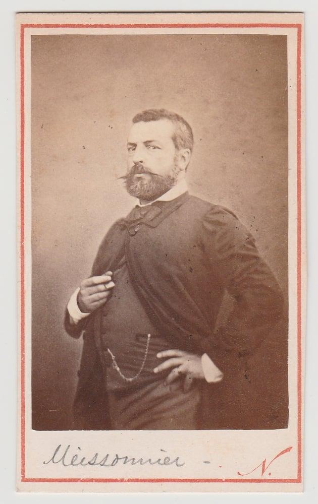 Image of Félix Nadar: CdV of Ernest Meissonier, ca. 1865