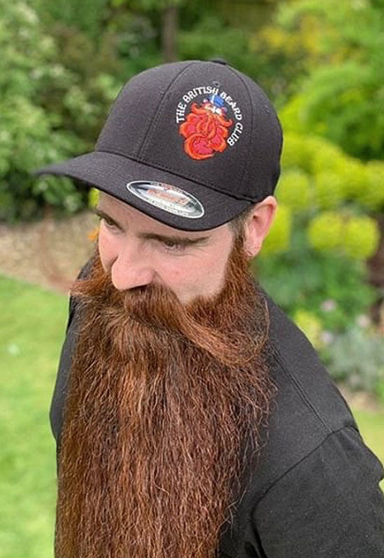Image of The British Beard Club Trucker / Baseball Cap