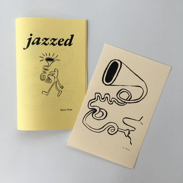 Image of Jazzed zine and print
