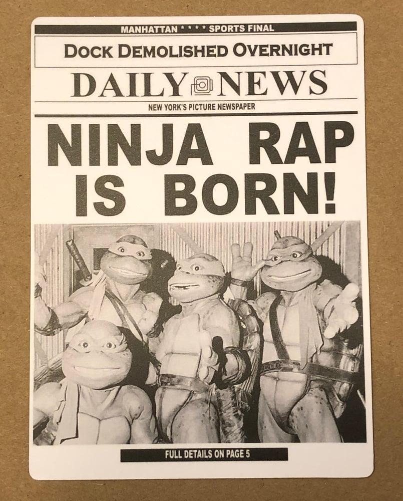 Image of Ninja Rap High Quality Magnet