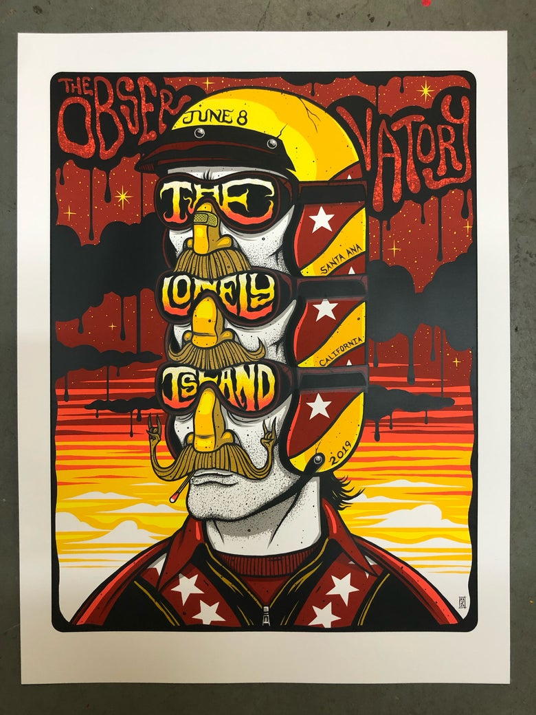 Image of The Lonely Island - The Observatory - June 8th, 2019 - Artist Prints