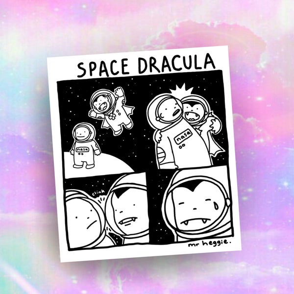 Image of The space dracula print