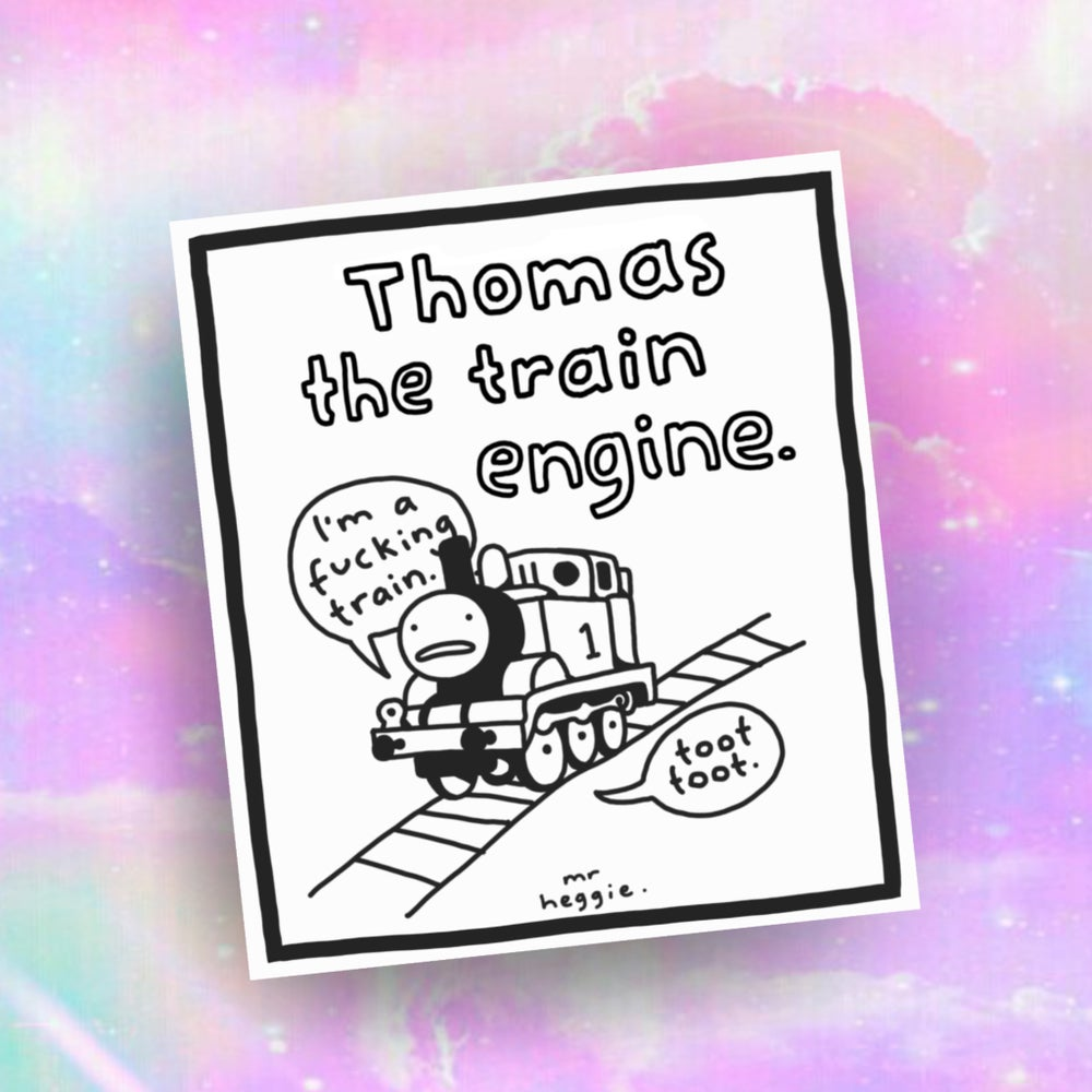 Image of The Thomas the train engine print