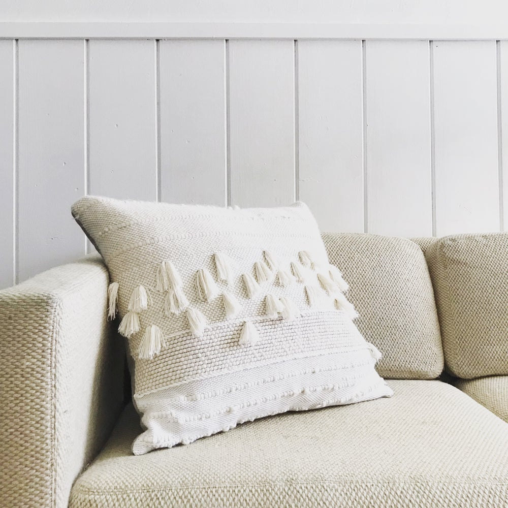 Image of CREAM PILLOW