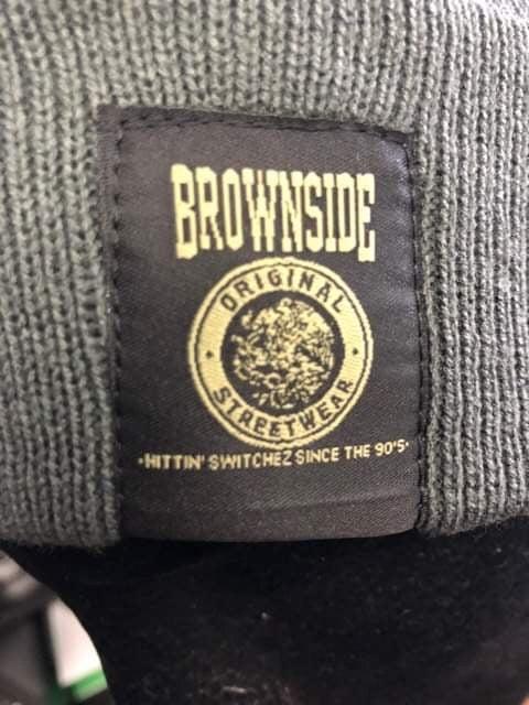 Image of BROWNSIDE BEANIE W/ PATCH