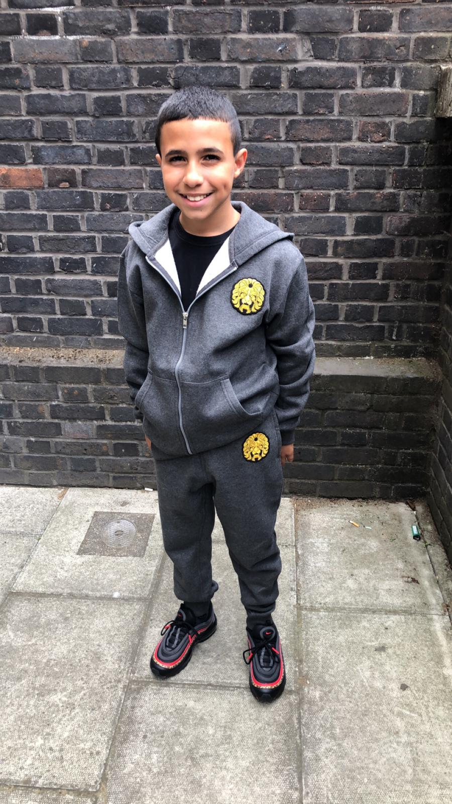 Image of Grey Tracksuit