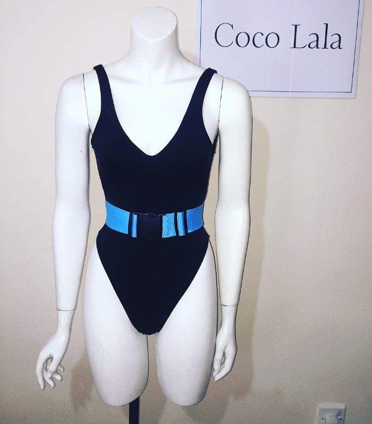 Image of Blue Strap Bikini