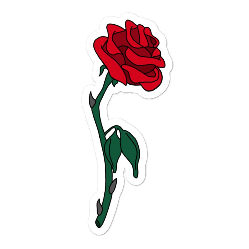 Image of Rose Sticker