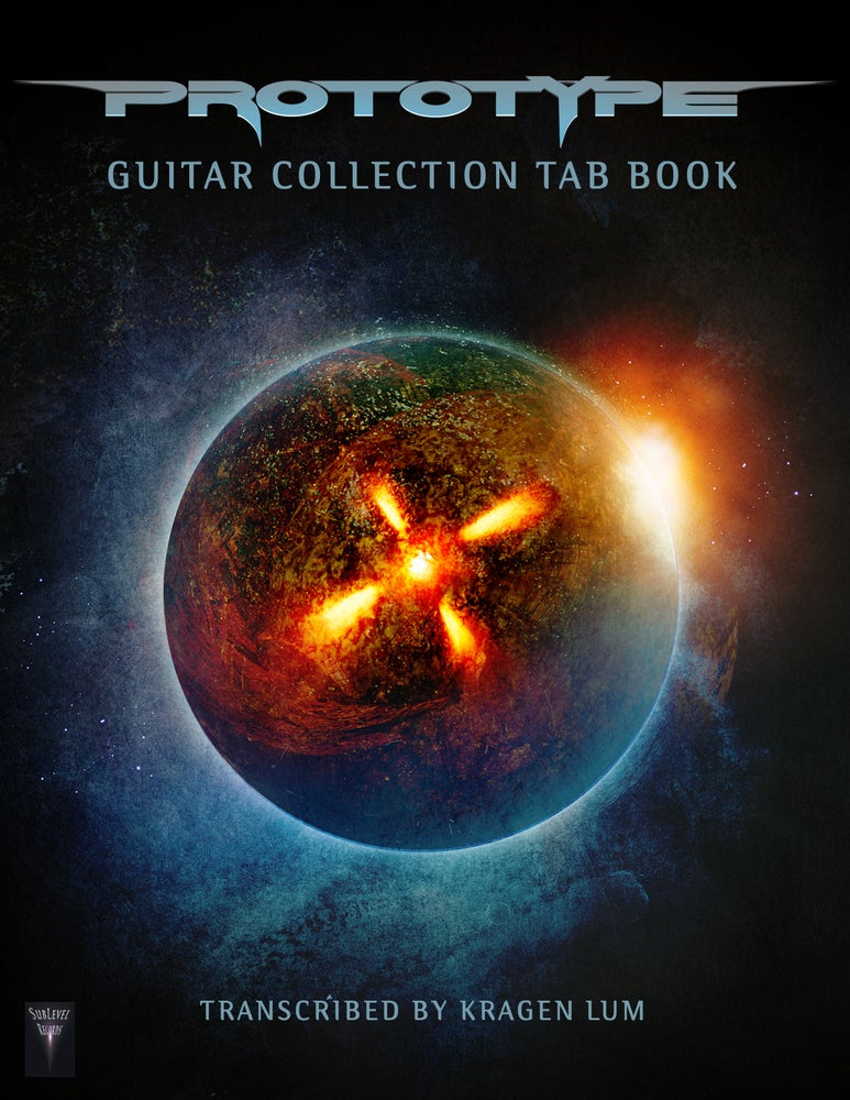 Image of Prototype - Guitar Collection TAB Book (Print Edition + Digital Copy