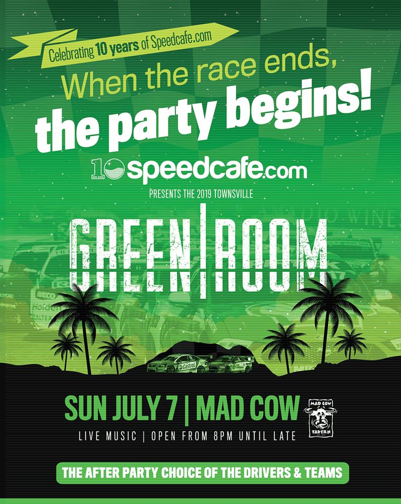 Image of Speedcafe.com Greenroom - Townsville 2019