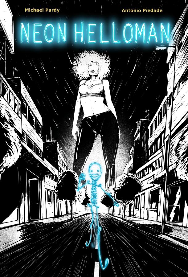 Image of Neon Helloman #1