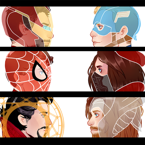 Image of Avengers 3D Charms