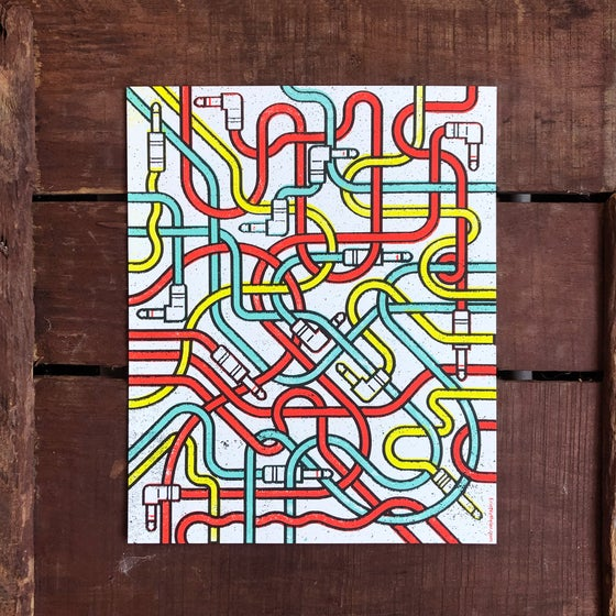 Image of Patch Cables art print