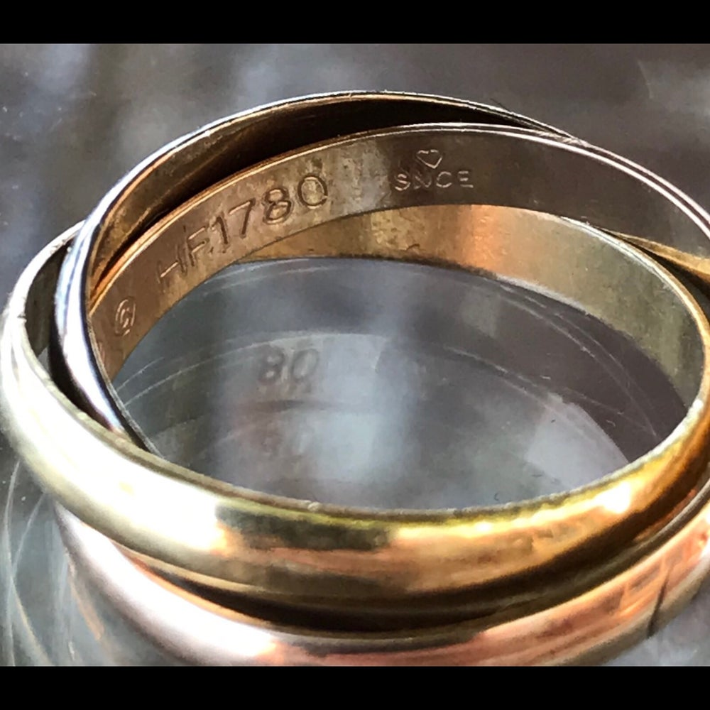 Image of Cartier Trinity Ring, Small Model