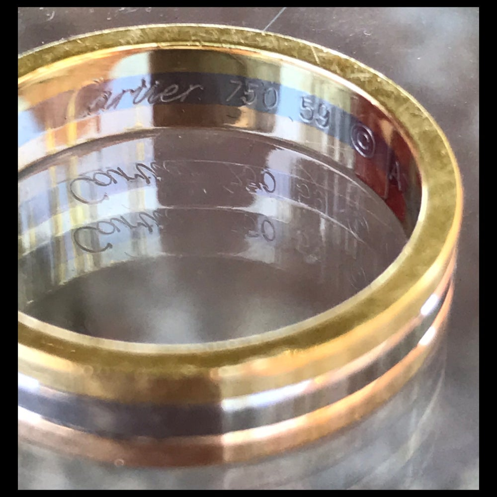 Image of Cartier Trinity Wedding Band