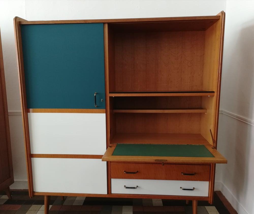 Image of Armoire bureau années 70