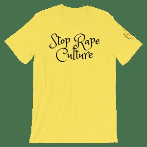 Image of Stop Rape Culture T-shirt