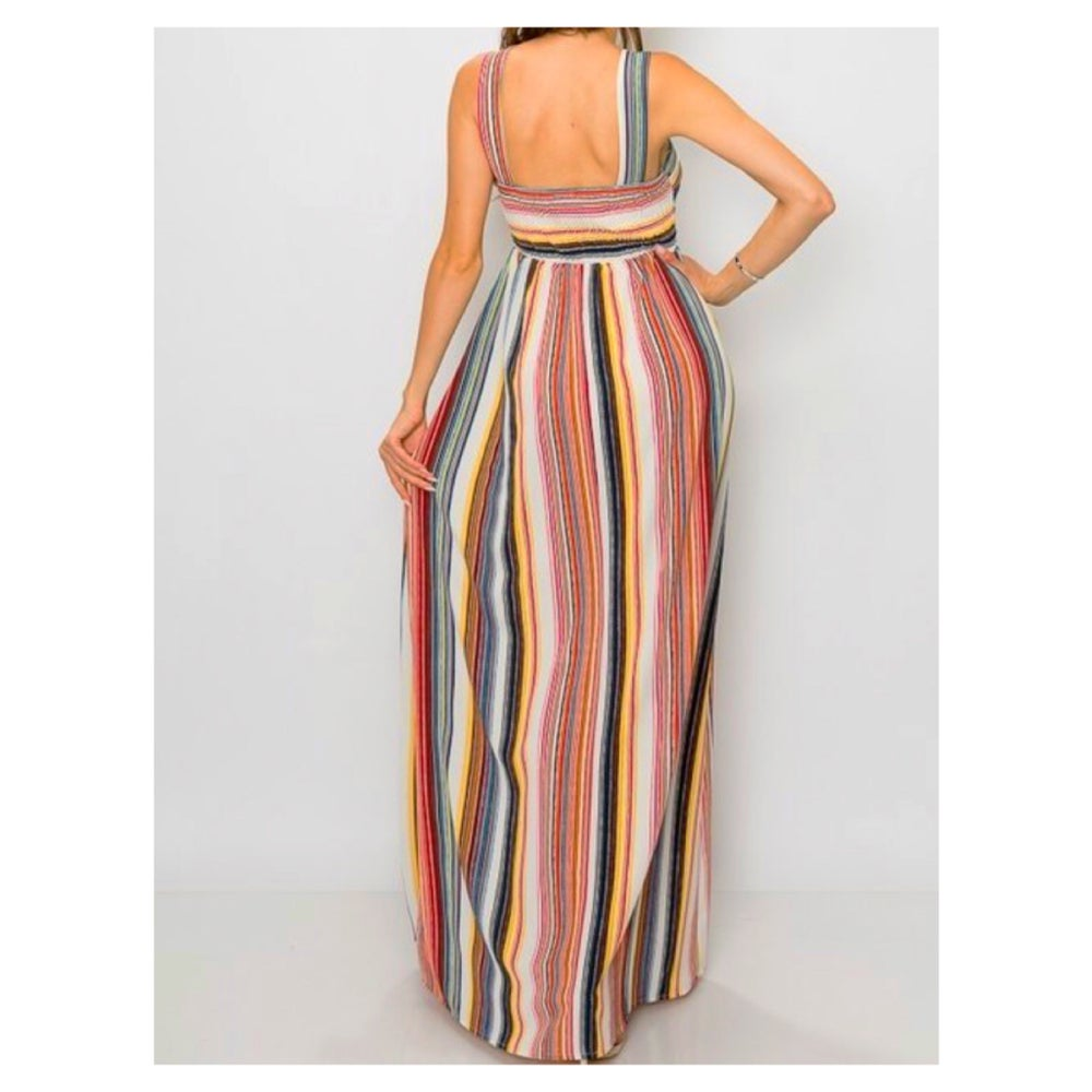 Image of Cassidy Striped Maxi