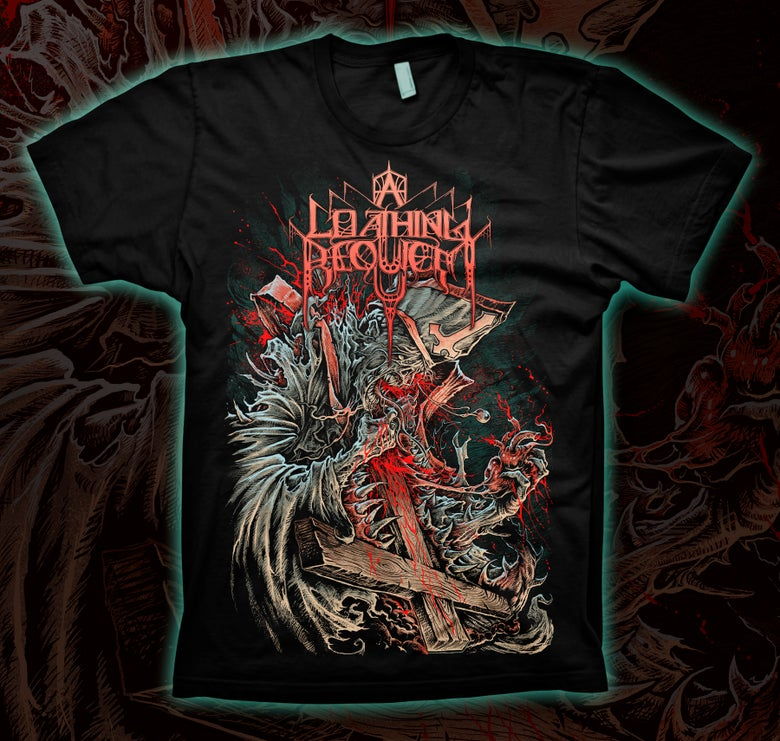 Image of A LOATHING REQUIEM - Reverend T-Shirt