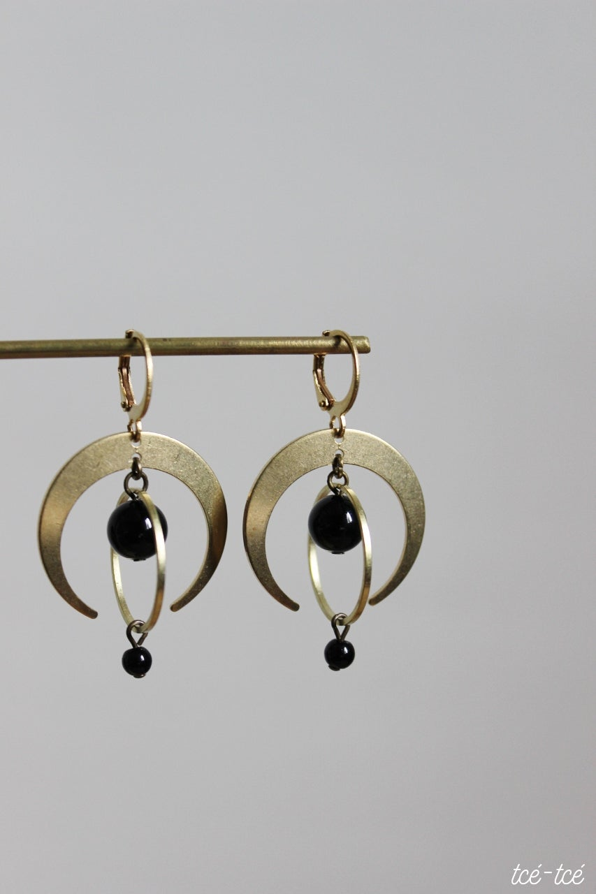 "Image of Boucles ""Nouvelle lune"""