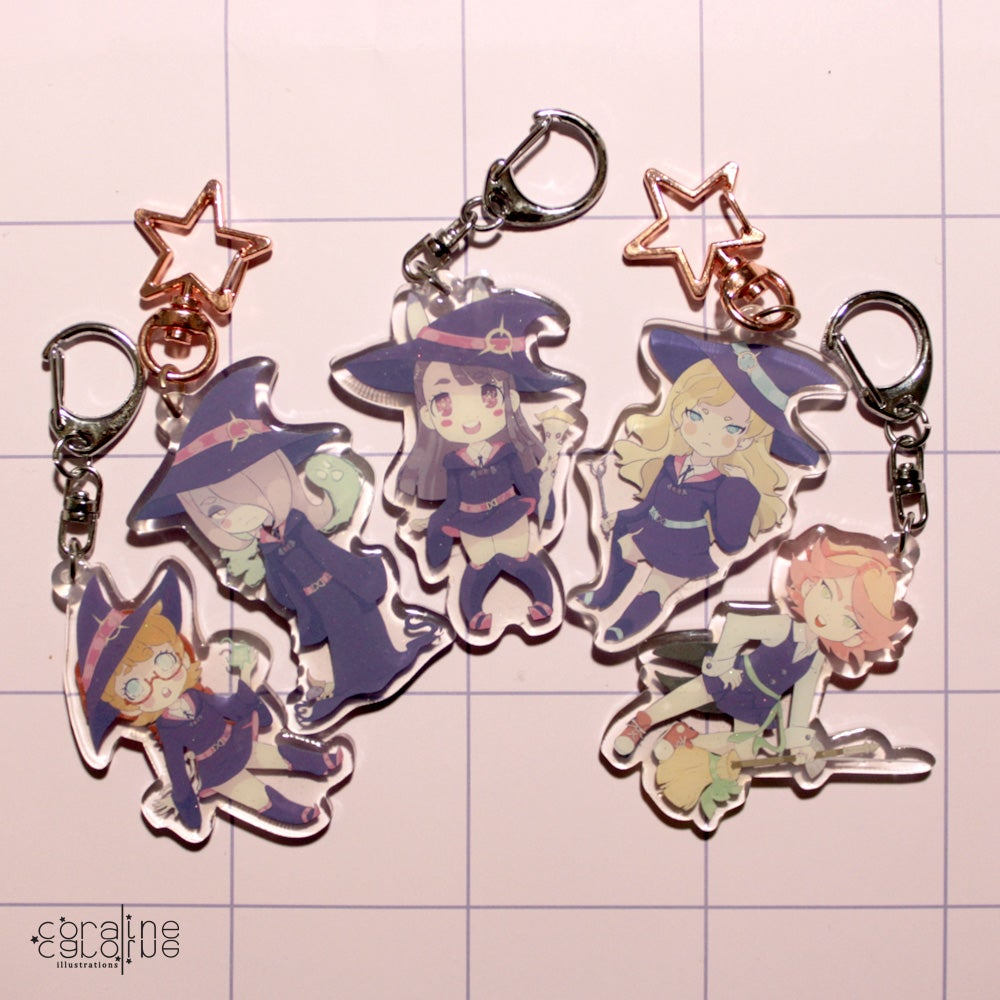 Image of Little Witch Academia Charms