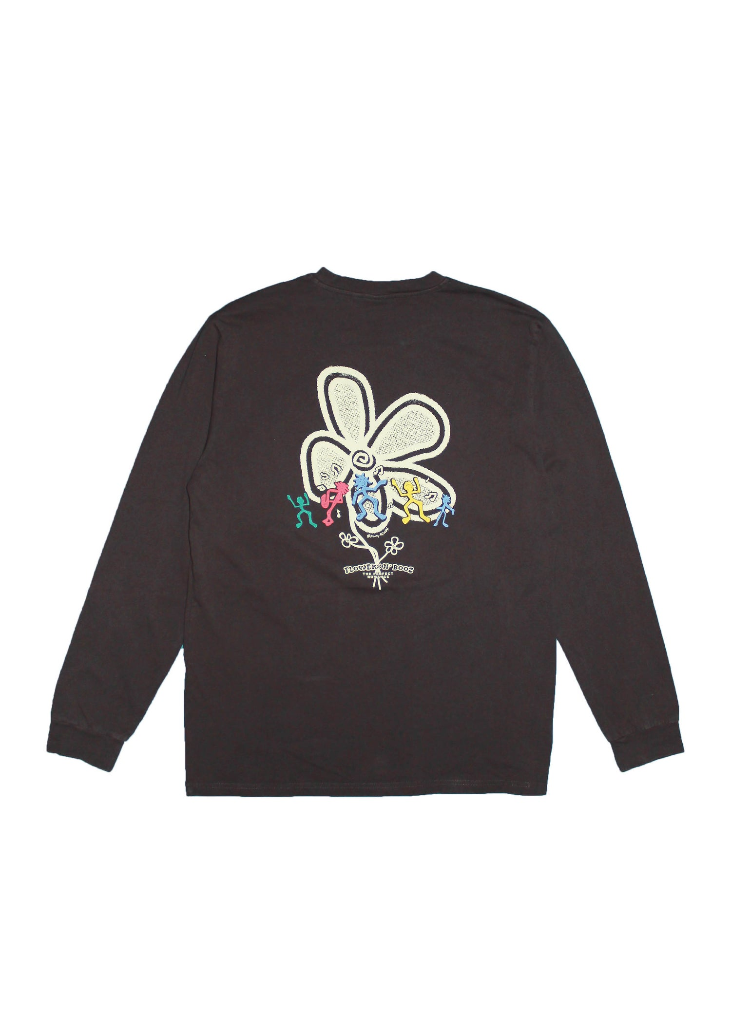 Image of Flowers N' Booz L/S