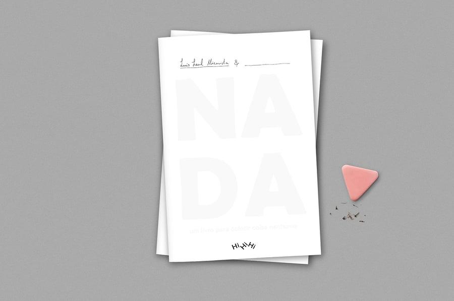 Image of NADA. Um livro para colorir coisa nenhuma, Luís Leal Miranda, Ed. Livraria Plutão + HiHiHi