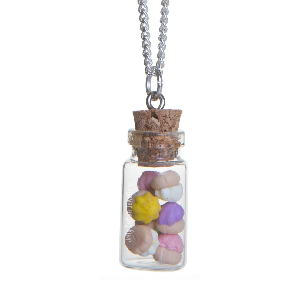 Image of Miniature Ice Gem Bottle Necklace