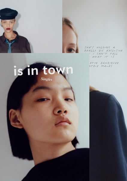 Image of is in town x singles, cover 1