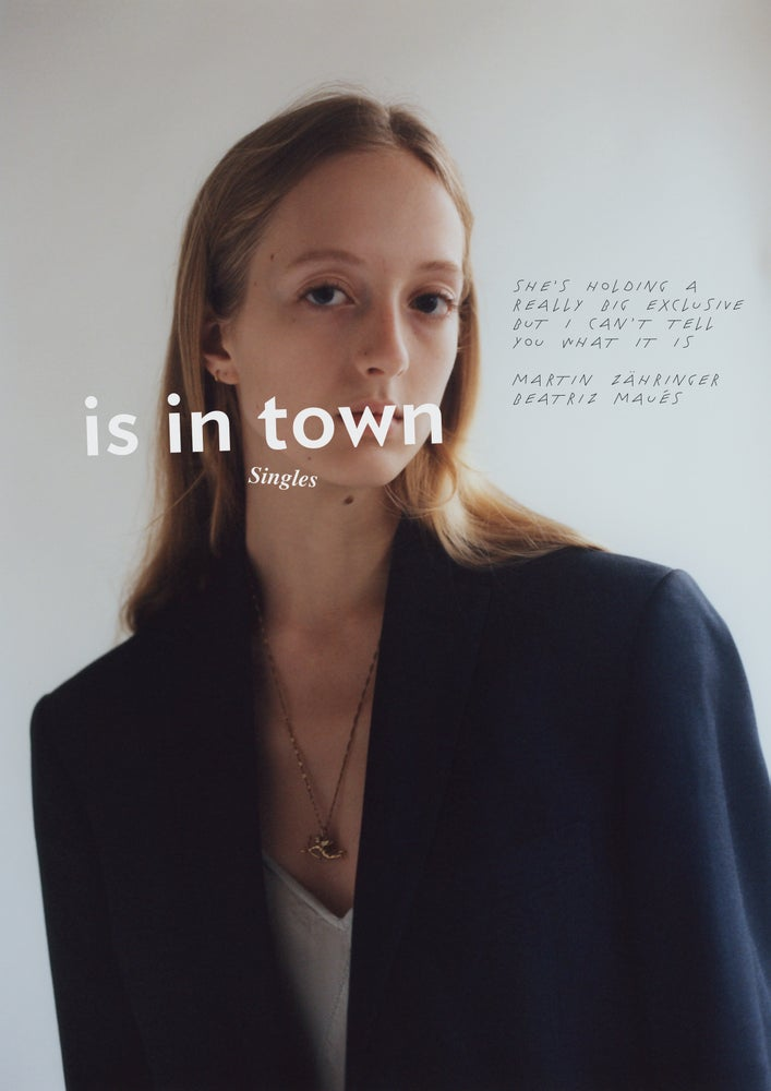 Image of is in town x singles, cover 4