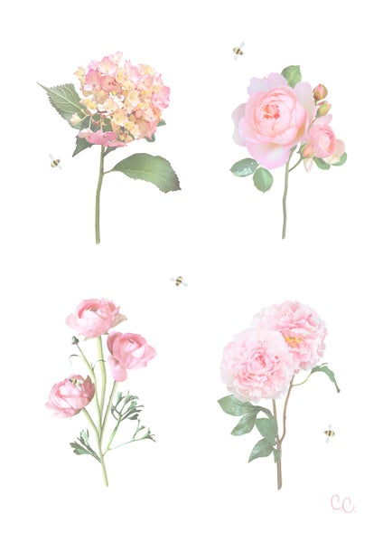 Image of Purely Pinks Print