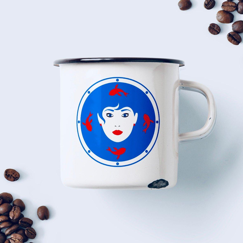 Image of Zodiac mug / Taza del zodiaco