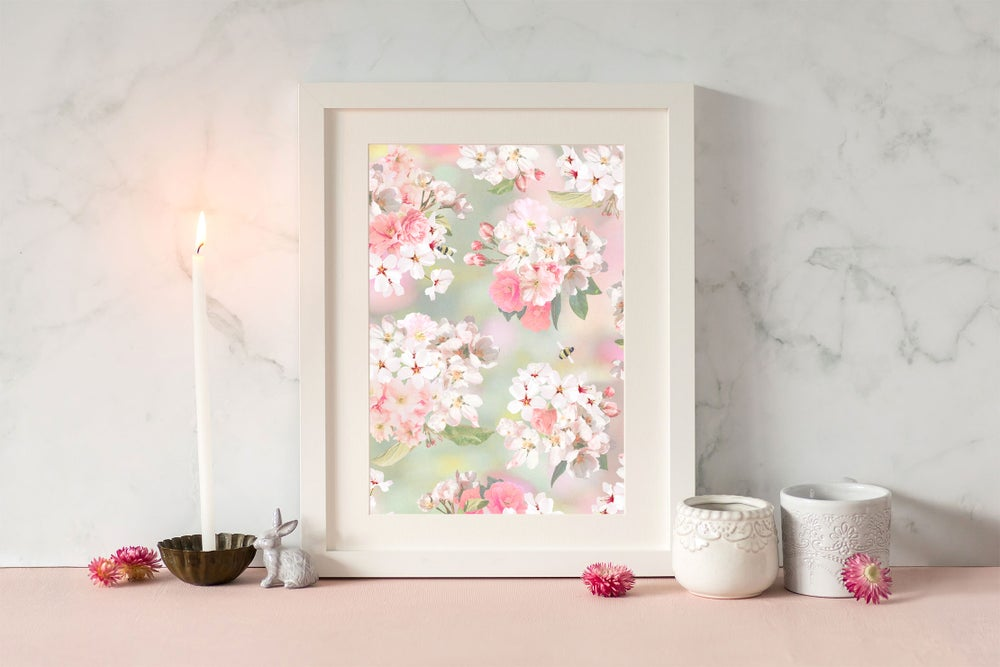Image of Blossom Bee Print