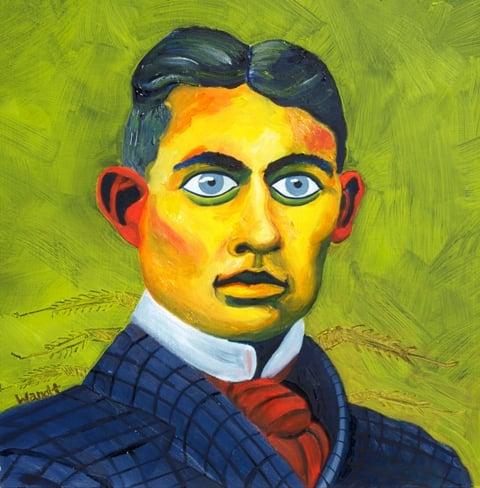 Image of Franz Kafka Giclèe Fine Art Print