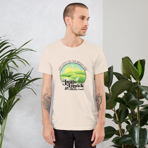 Image of Just Look On The Bright Side Unisex T-Shirt (Natural Color)