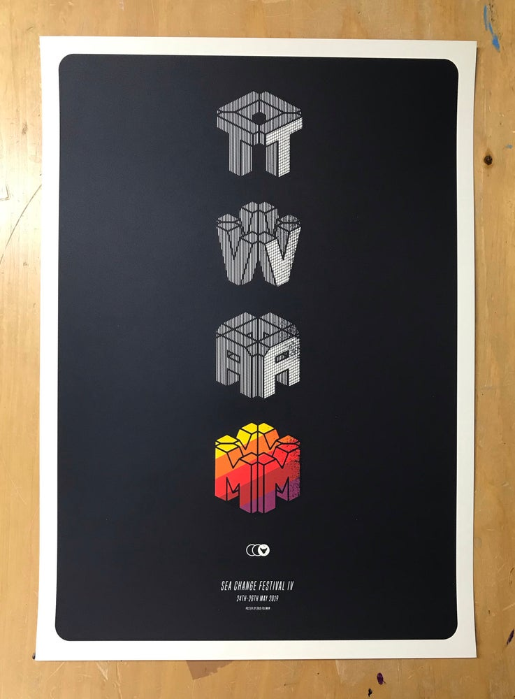 Image of TVAM screen printed poster