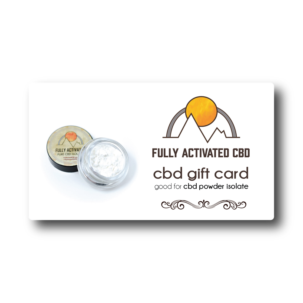 Image of 99.4%+ Powder Iso Gift Card