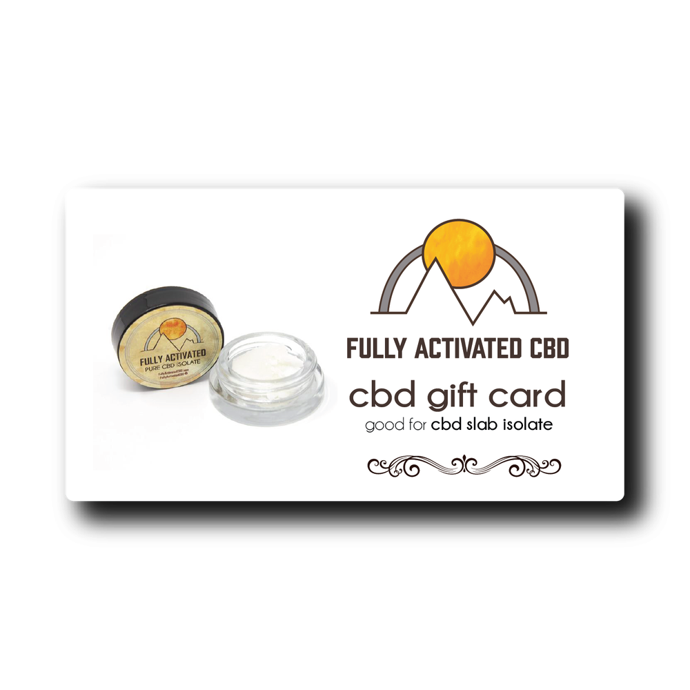 Image of 99.4%+ Slab Iso Gift Card