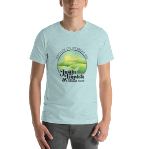 Image of Just Look On The Bright Side Unisex T-Shirt (Ice Blue)