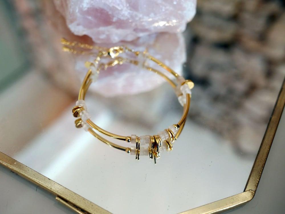 Image of Bracelet Disque 7 Coloris